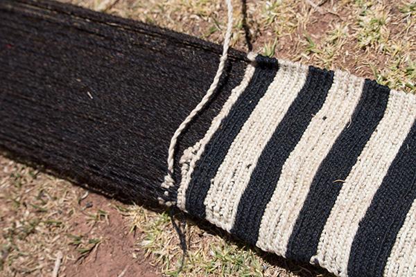 A human hair belt