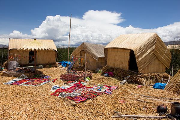 Uros houses