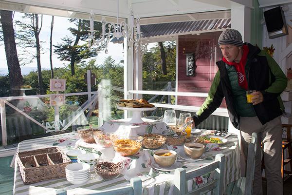 Breakfast at Cumbres del Martial
