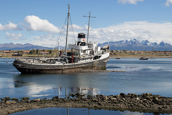 St. Christopher wreck, Ushuaia