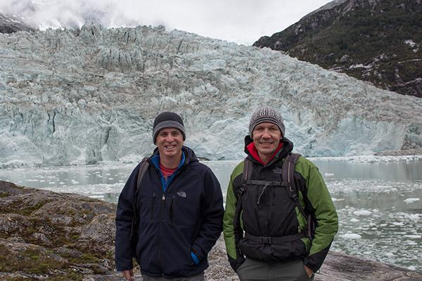 TnT at the Pia Glacier