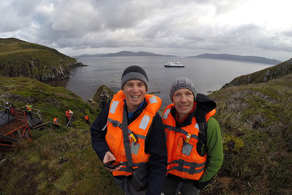 TnT at Cape Horn