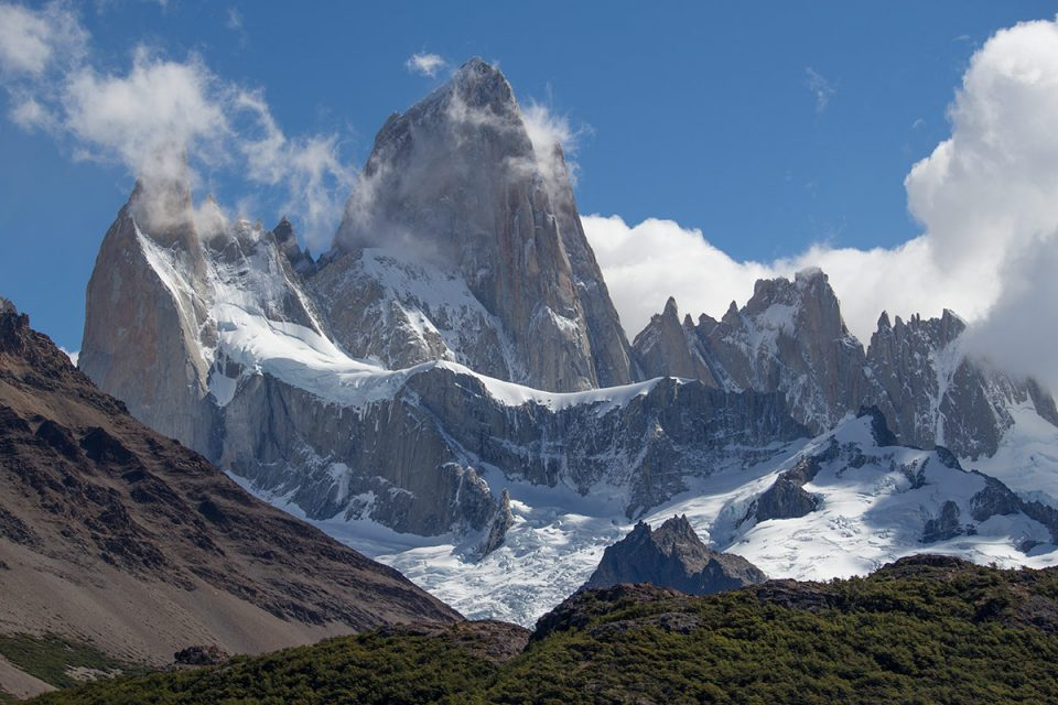 Hiking in Los Glaciares National Park North: Mount Fitz Roy