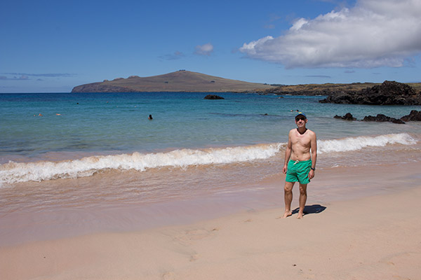 Thomas at Ovahe Beach
