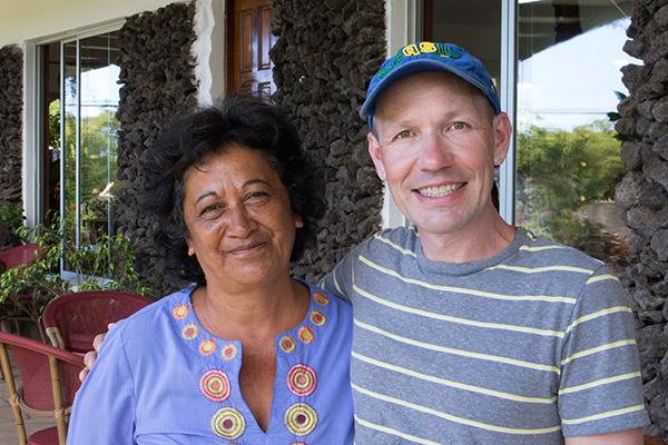 Thomas with Maria Goretti