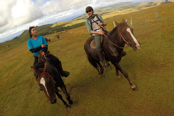 Horseback Riding with Pantu from Pikera Uri