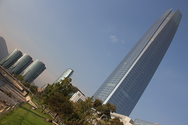 Gran Torre Santiago in Providencia