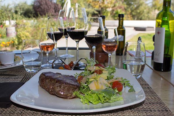 Sirloin steak at Katharina Restaurant