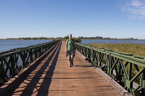 Tony in the Iberá Wetlands, Argentina