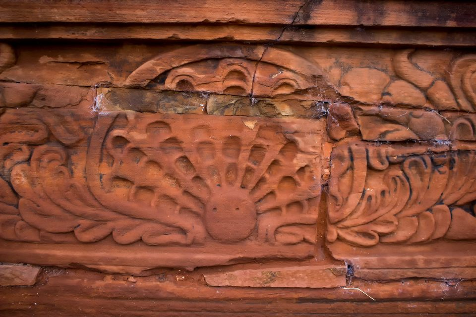 Shells designs on facade of San Ignacio Mini