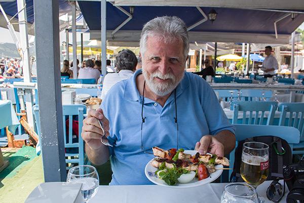 Lunch at Anadolu Kavağı