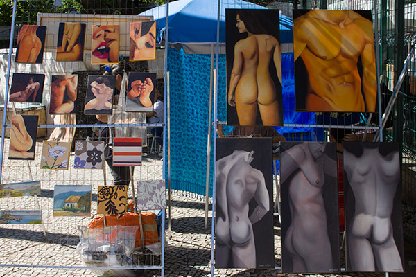 Sunday Hippie Market in Ipanema, Rio de Janeiro, Brazil
