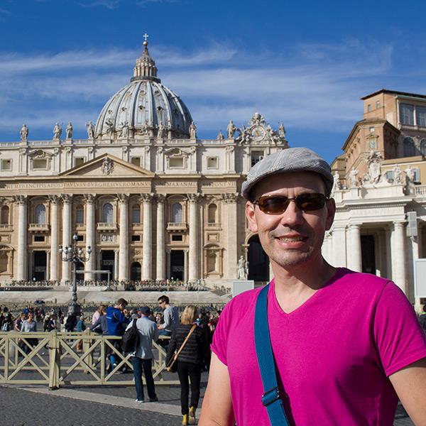 Thomas at the Vatican