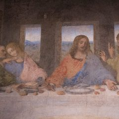 Leonardo Da Vinci's The Last Supper in Milan