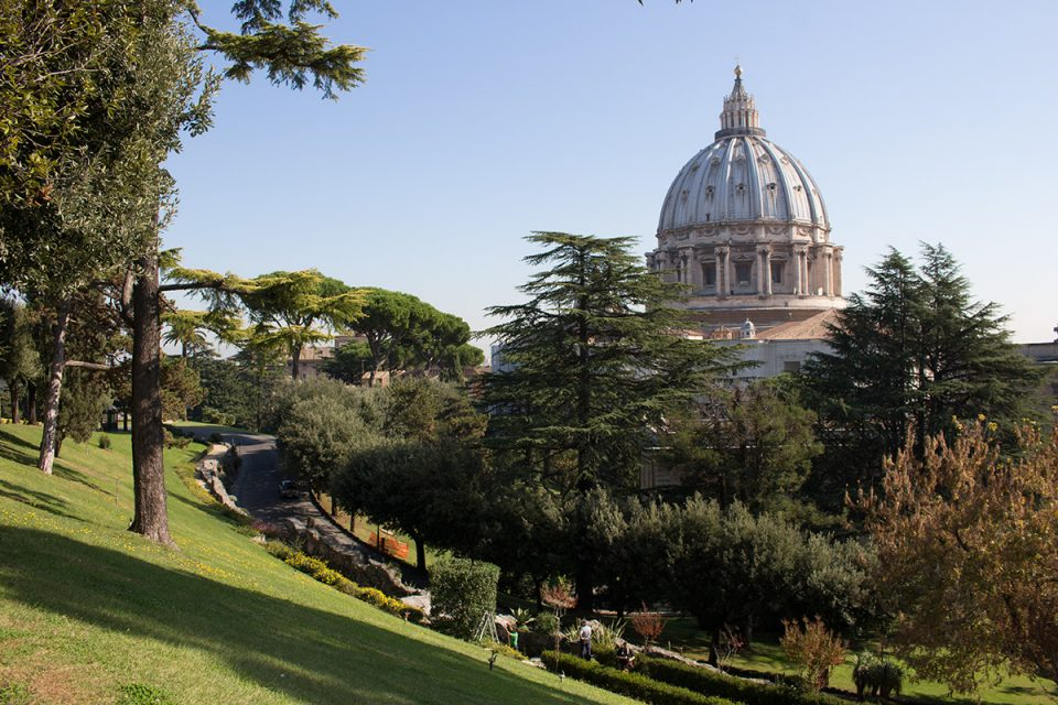 Things to do in Rome: The Vatican Gardens