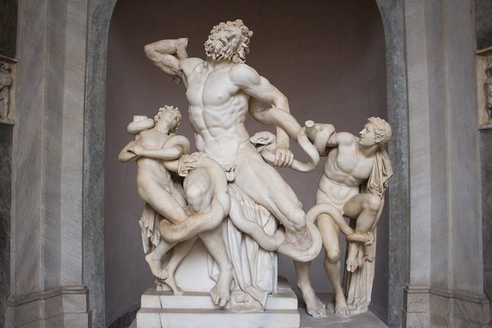 Things to do in Rome: Laocoön at the Vatican Museums