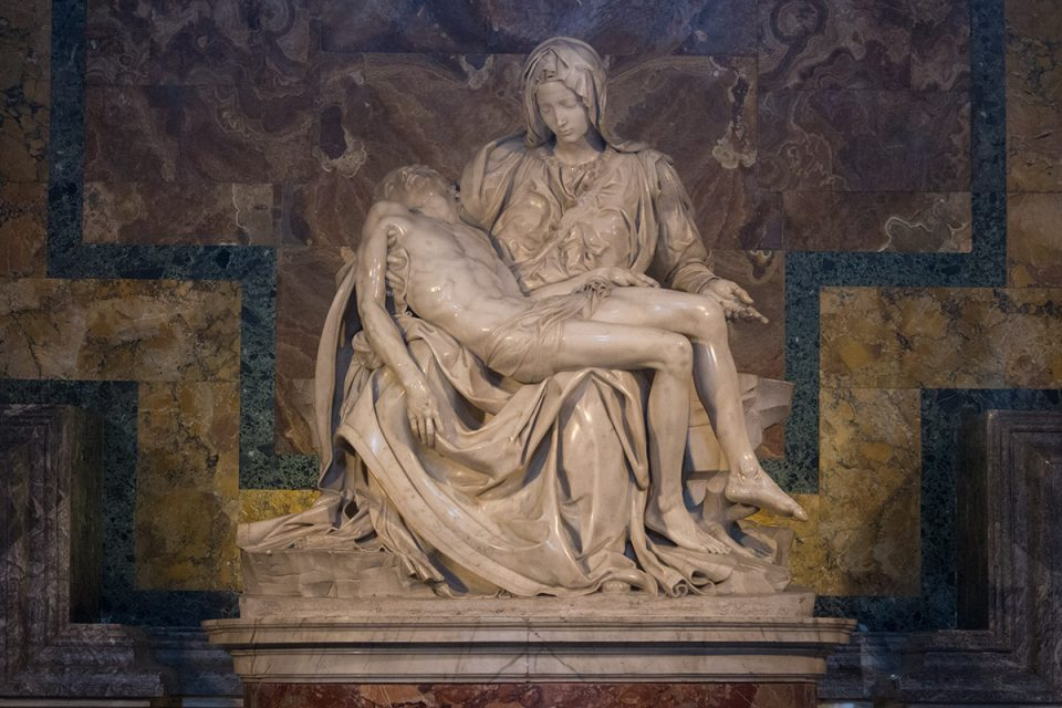 Things to do in Rome: Michelangelo's Pieta