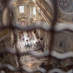 What to do in Rome: Dome view in St. Peter's Basilica