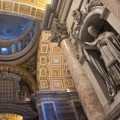 Things to do in Rome: Inside St. Peter's Basilica
