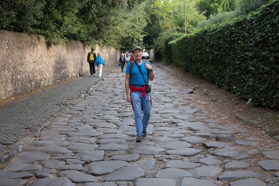 Rome off the beaten path: Walking on the historical Appian Way