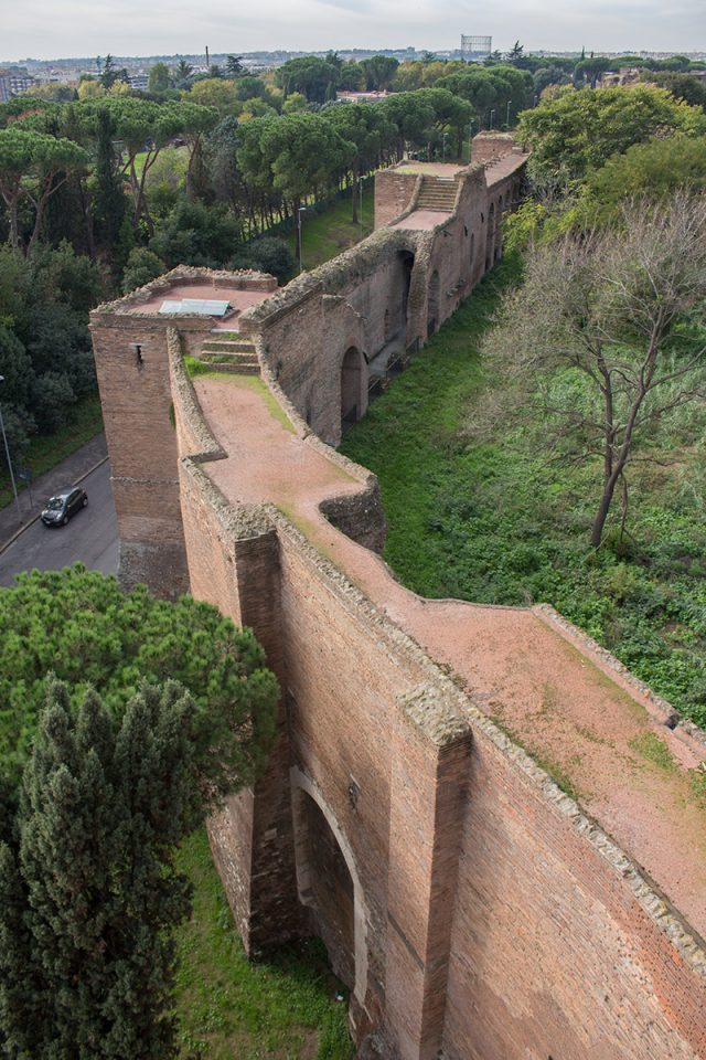Rome off the beaten path: The Aurelian Walls in Rome