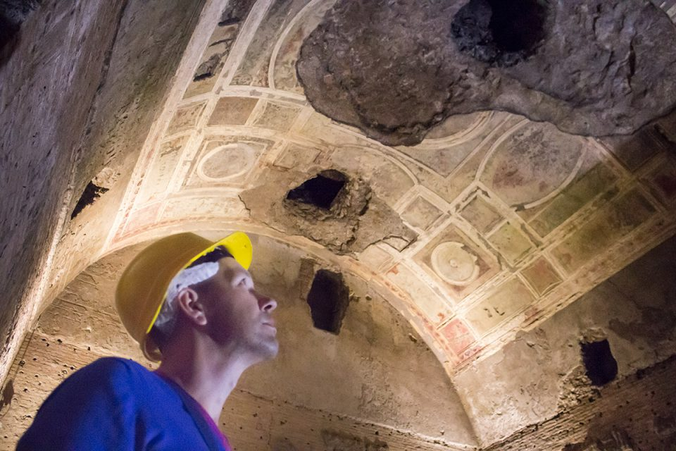 Rome off the beaten path: Underground in the Domus Aurea