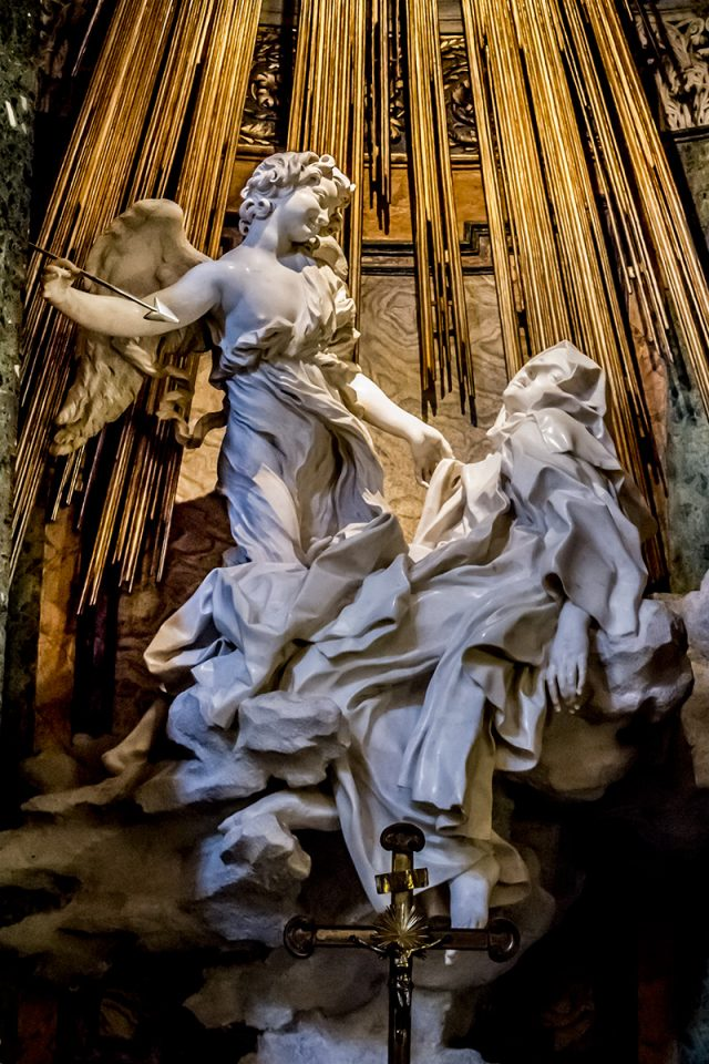 Rome off the beaten path: The Ecstasy of Saint Theresa