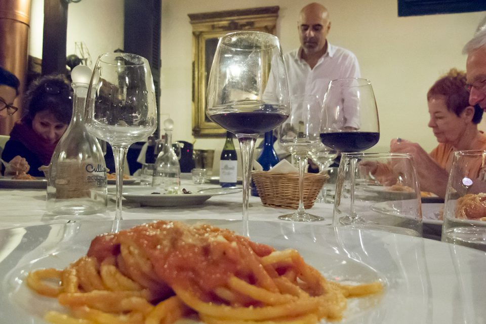 Roman food guide: Wine and food pairing, Rome
