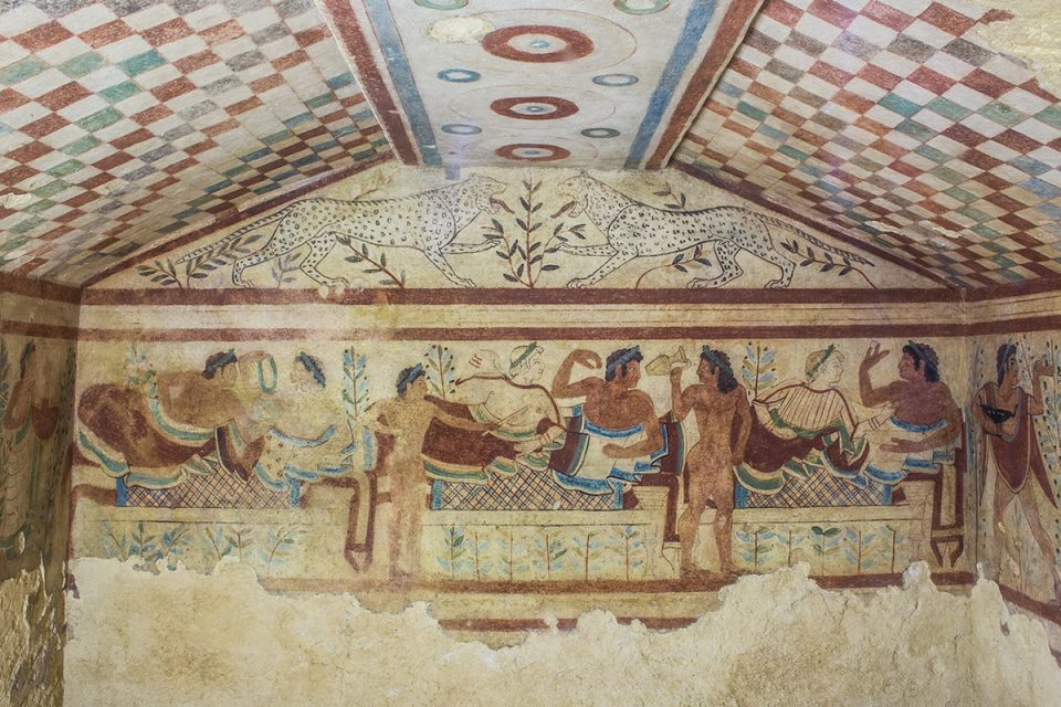 Rome off the beaten path: Tomb murals in Tarquinia