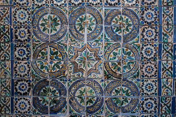 Beautiful Moorish tiles