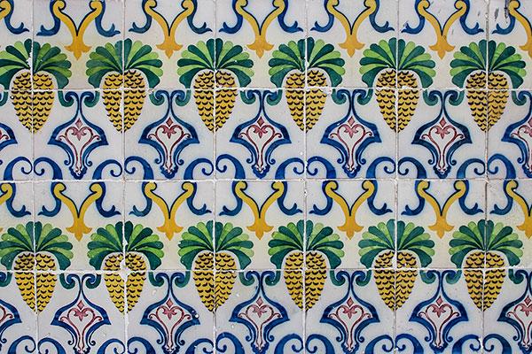 Pineapple tiles