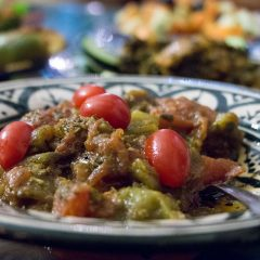 Moroccan salad at Riad Maryam