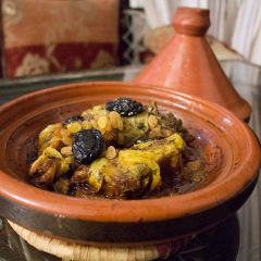 Beef tajine at Riad Maryam