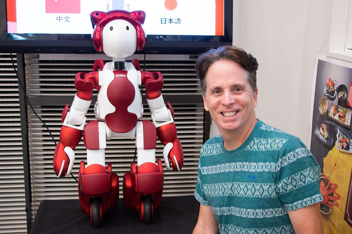Talk to a robot