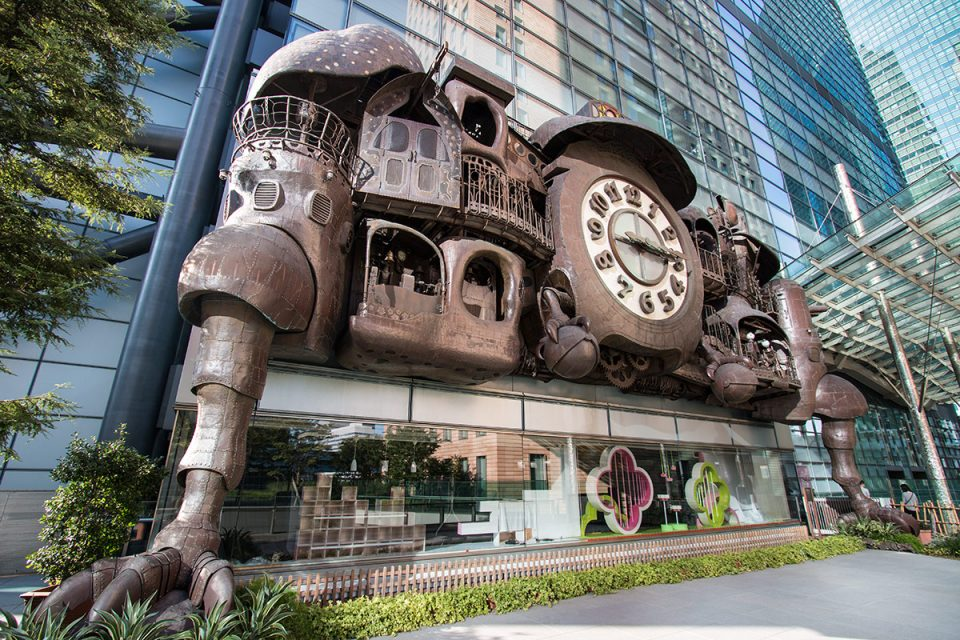 Ghibli clock Tokyo