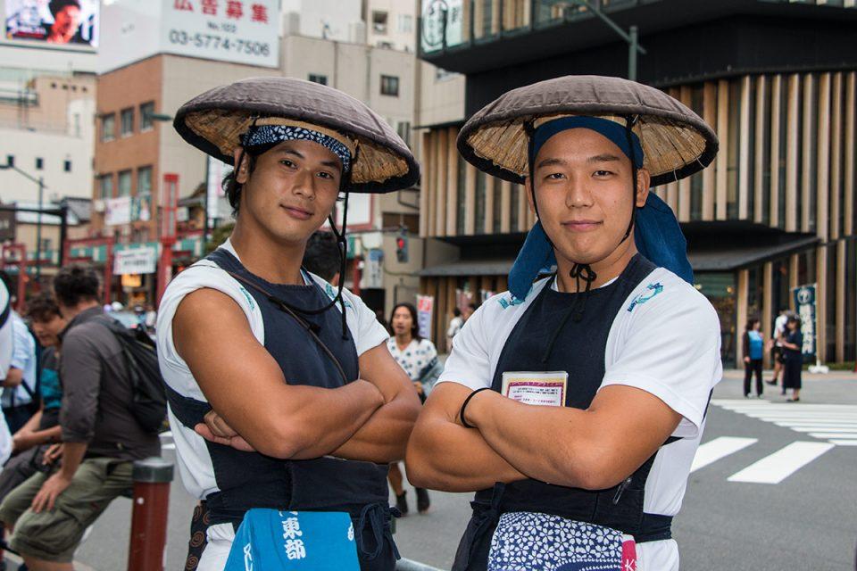 Rickshaw drivers Asakusa