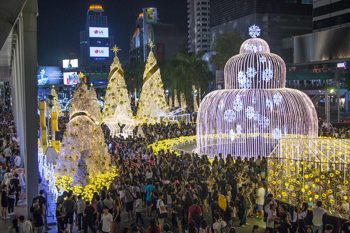 Christmas in Central World, Bangkok
