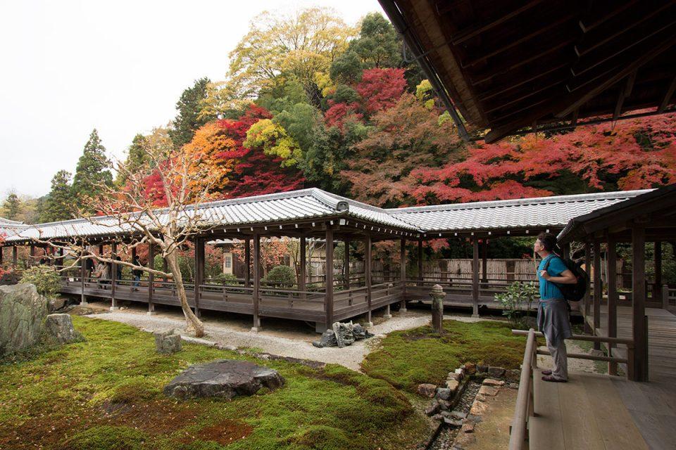 Autumn foliage in Kyoto's Nanzen-ji Temple