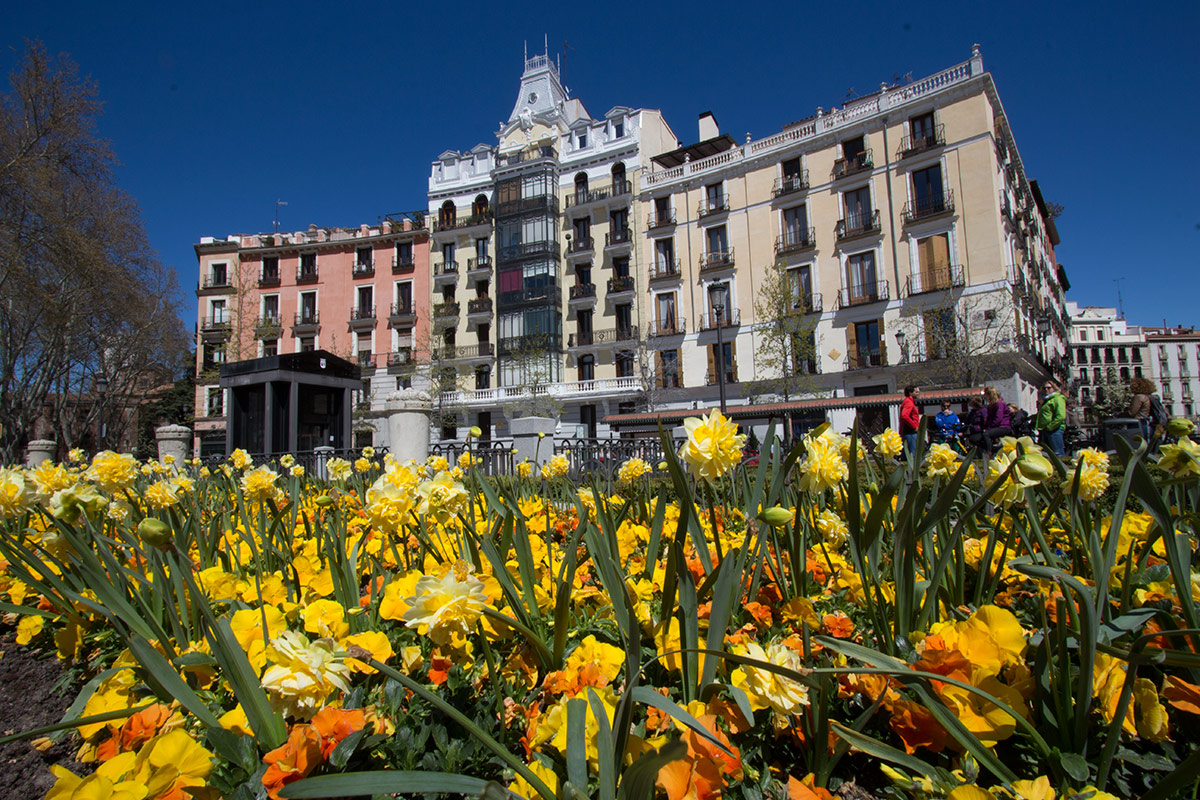 Madrid in spring