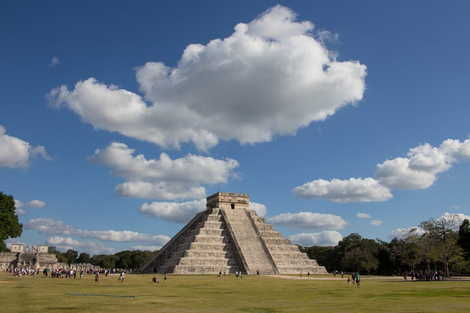 Caribbean honeymoon: El Castillo in Chichen Itza