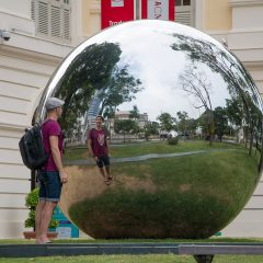 Mirror balls by Baet Yeok Kuan, Singapore