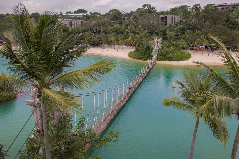 Things to do in Singapore: Palawan Beach on Sentosa Island, Singapore