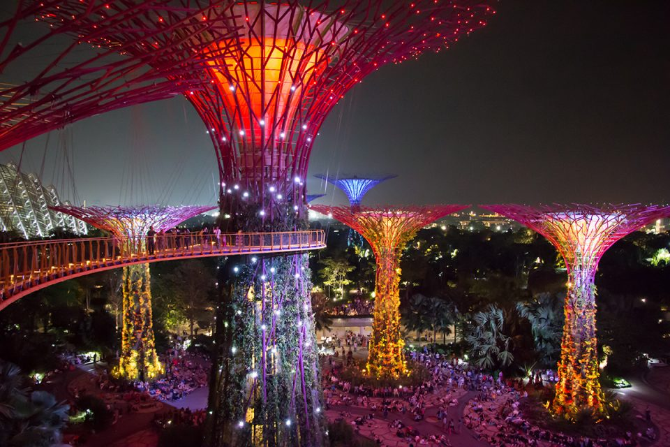 OCBC Skywalk in Singapore