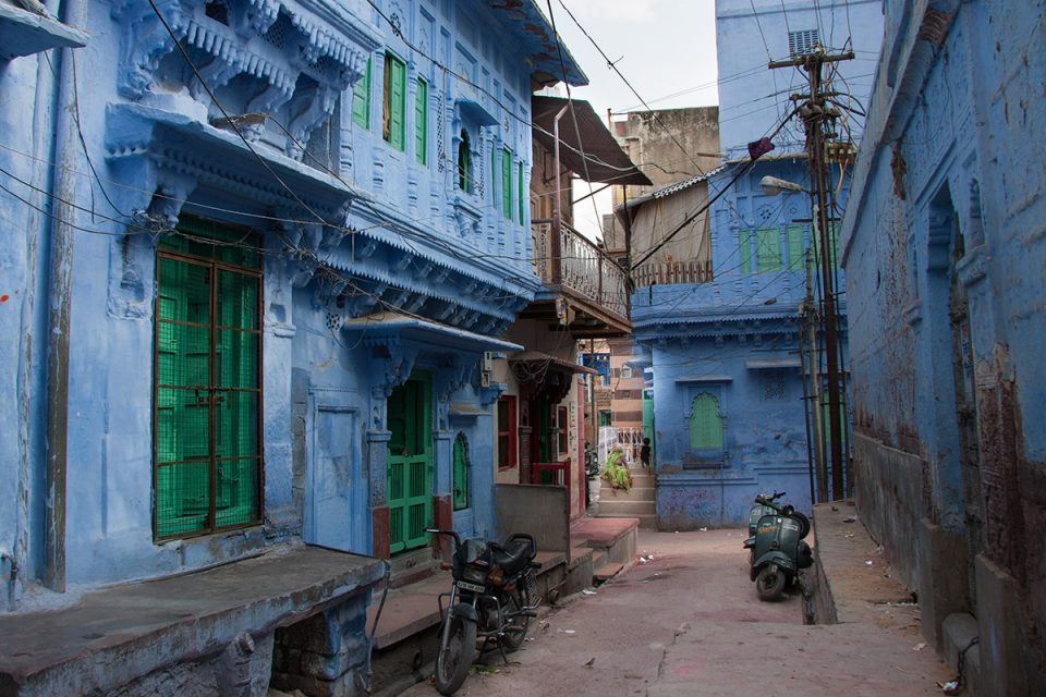 Places to visit in Jodhpur: Backstreets of the Blue City