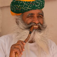 Rajasthani man in Jodhpur