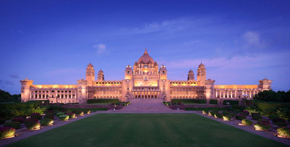 Places to visit in Jodhpur: Taj Umaid Bhawan Palace in Jodhpur