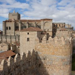 Day trips from Madrid: Avila Cathedral