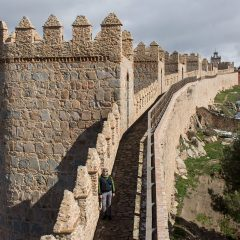 Day trips from Madrid: Walkable city walls in Avila