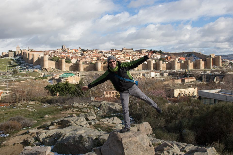 Day trips from Madrid: View of Avila, Spain