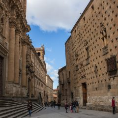 Day trips from Madrid: Casa de las Conchas, Salamanca